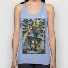 AnimalArt_Raccoon_20170901_by_JAMColorsSpecial Unisex Tank Top
