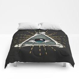 All seeing eye of God Comforters