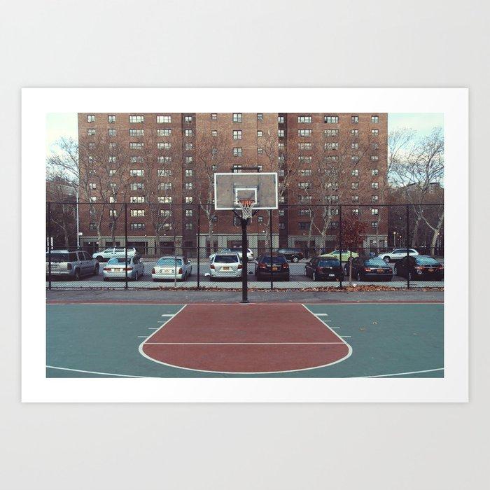 New York - Rucker Park Kunstdrucke