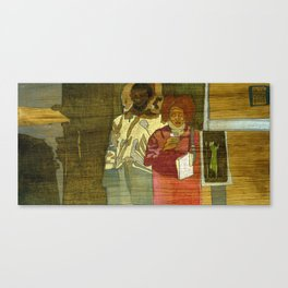 In the Grind Canvas Print