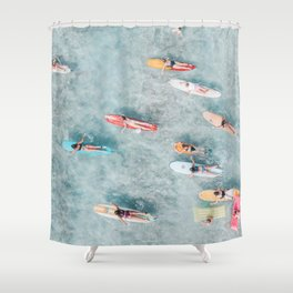 float ii Shower Curtain