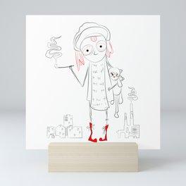 urban child Mini Art Print