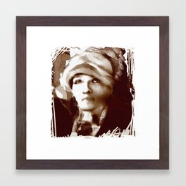 Haiti Portraits / 06 / series /1 Framed Art Print