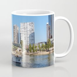 Statue of Liberty and beaugrenelle district - Paris, France Coffee Mug