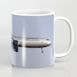 Aeroflot Airbus A321 Manchester United Coffee Mug