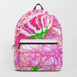 Metaphysical Penguins The Flower Of Love Backpack