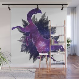 Astral Wolf Wall Mural