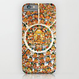 Mandala Buddhist Shambala 32 iPhone Case