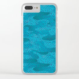 Rainy day at the Ocean Clear iPhone Case