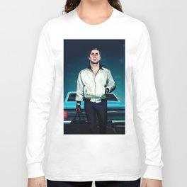 'Drive' Ryan Gosling Long Sleeve T-shirt