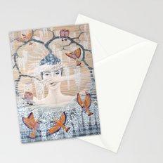 Wisteria tree Stationery Cards