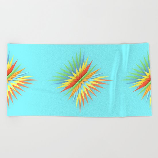 Summer Starz Beach Towel