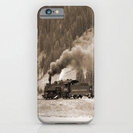 Steam Hauled Train - Engine 486 iPhone Case