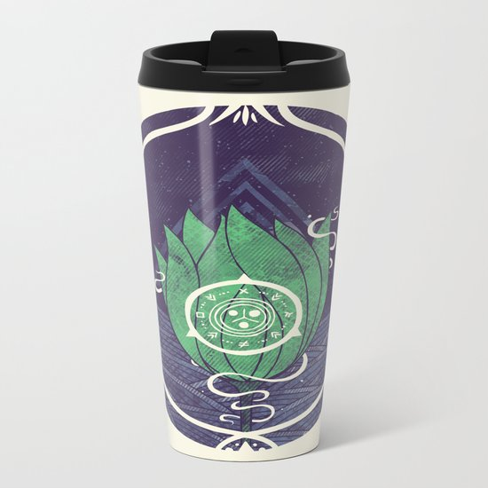 Pulsatilla Patens Metal Travel Mug