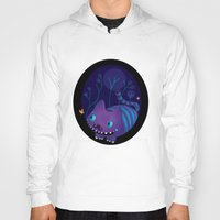 cheshire Hoodies featuring Cheshire by Maria Jose Da Luz