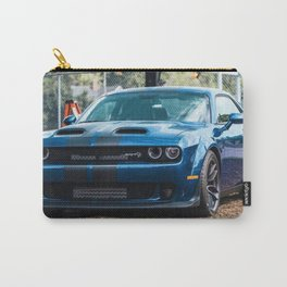 Sea Blue Challenger SRT Redeye Hellcat Demon Widebody Carry-All Pouch