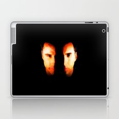 Face Off - Portrait Painting Style Laptop & iPad Skin