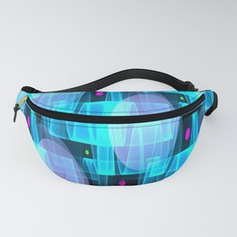 Undulations & Elipses Fanny Pack