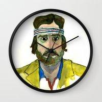 tenenbaum Wall Clocks featuring Richie Tenenbaum by Tessa Heck