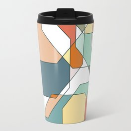 Desert Polygons Travel Mug