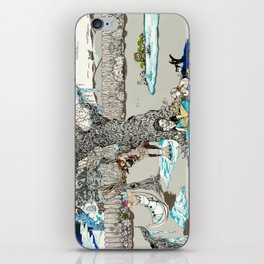 Books Coming to Life: Frozen iPhone Skin