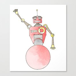 Rolly-Bot 2000 Canvas Print