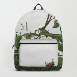 Léon Bonvin - Rose and Grasses Backpack