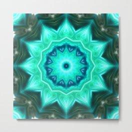 Star Flower of Symmetry 310 Metal Print