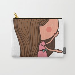 I love you 2 girl Carry-All Pouch