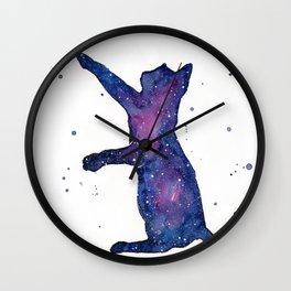 Galactic Cat Wall Clock