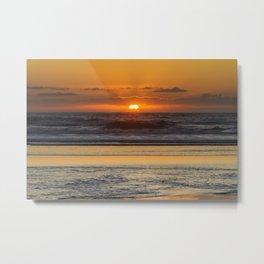 Moolack Beach Sunset Metal Print
