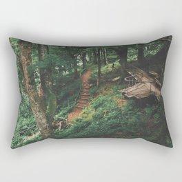 Fairytale Forest, Isle Of Mull Rectangular Pillow