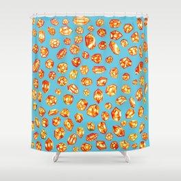 Gemstone Field Shower Curtain