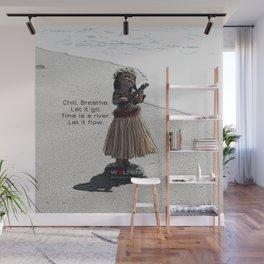 Wolfen Hula Babe Wall Mural