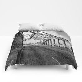 Sixth Street Viaduct Bridge - LA 02/30/2016 Comforters