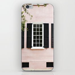 Pink Windows iPhone Skin