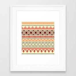 Modern ethnic Framed Art Print