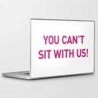 mean girls Laptop & iPad Skins featuring Mean Girls #10 – Sit Pink by Enyalie
