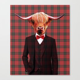 Sir Coo Canvas Print