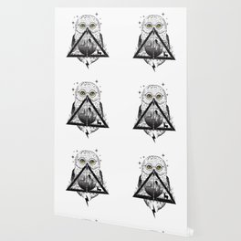 Owls and Wizardry Wallpaper