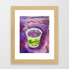 Honey Purp Framed Art Print