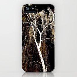 Dark Tree iPhone Case