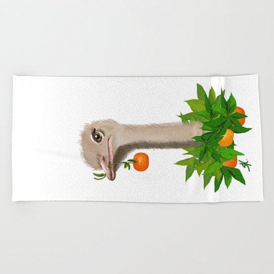 Mandarin Beach Towel