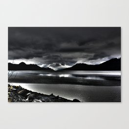 Turnagain Arm (Alaska) Canvas Print