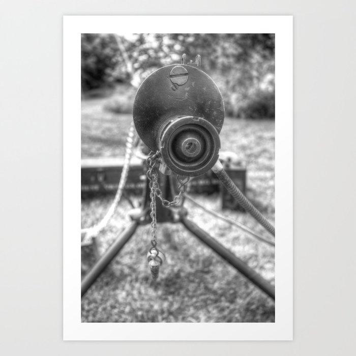 Vickers Machine Gun WW1 Art Print by davidpyatt