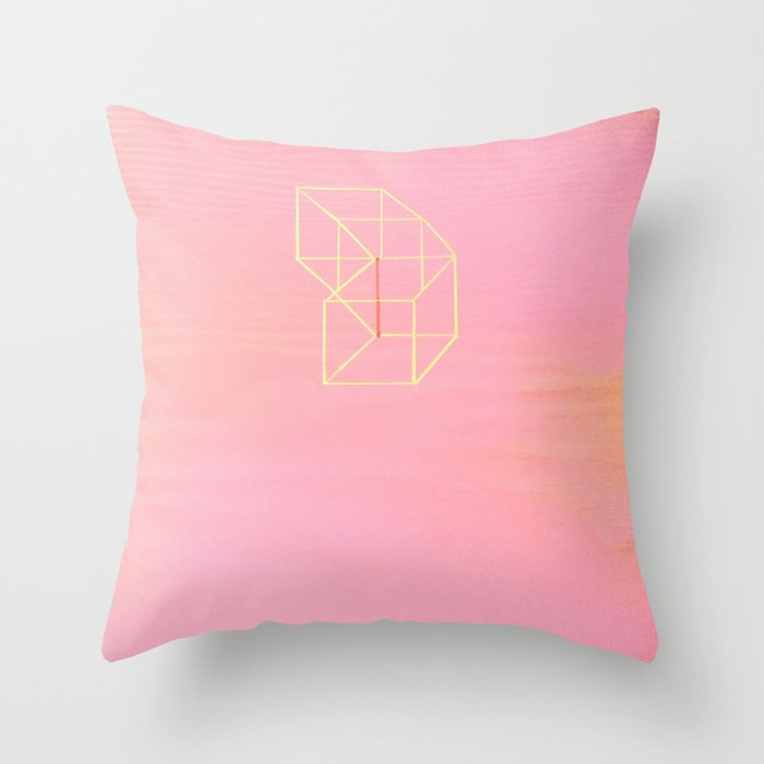 Little Boxes Exploded Throw Pillow