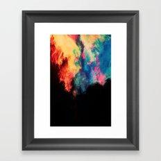 Painted Clouds V.I Framed Art Print