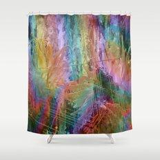 sea rainbow Shower Curtain