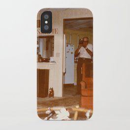 Grandpa Takes A Selfie iPhone Case