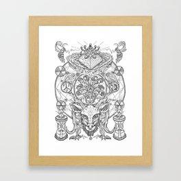 Primal Reverence Framed Art Print
